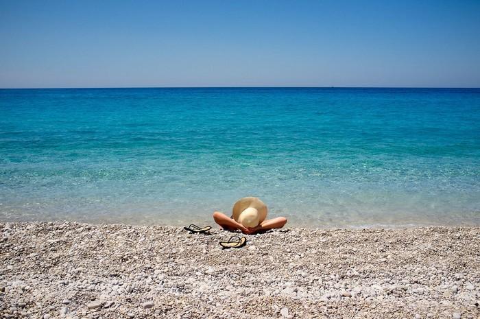 Thư giãn bên bờ biển