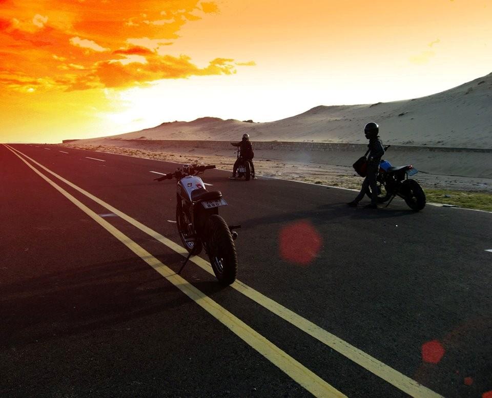 Nhưng di chuyển bằng xe máy cũng mang lại nhiều trải nghiệm thực thú vị