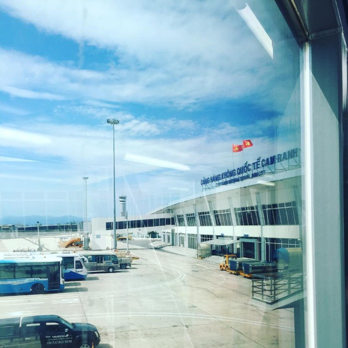Sân bay ở Cam Ranh
