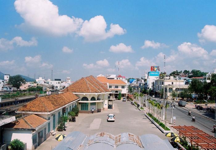Toàn cảnh ga Nha Trang
