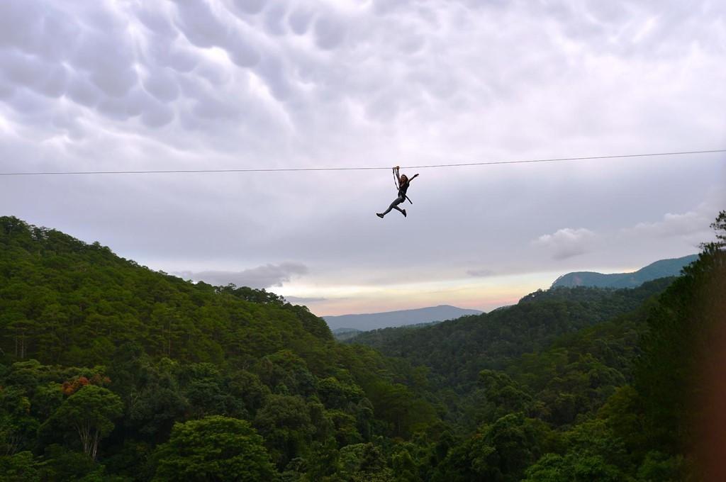 High Rope Course - hứa hẹn mang đến cho du khách những trải nghiệm khó quên
