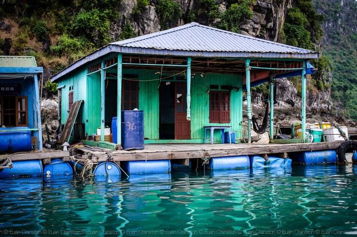 Những ngôi nhà đơn sơ có thể nổi trên mặt nước