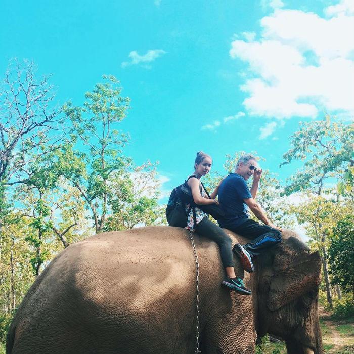 Trải nghiệm cỡi voi thực sự