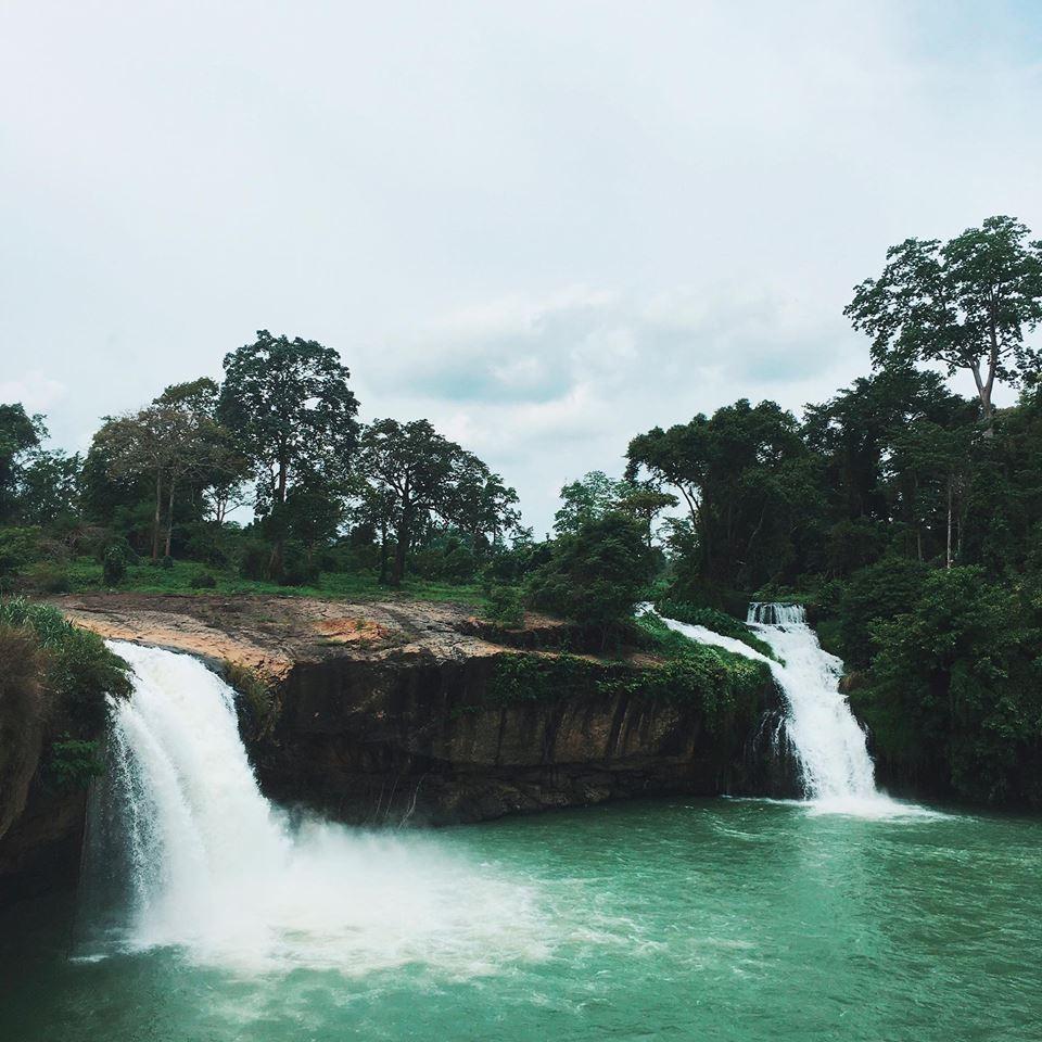 Vẻ đẹp thần thánh của thác Dray Sap