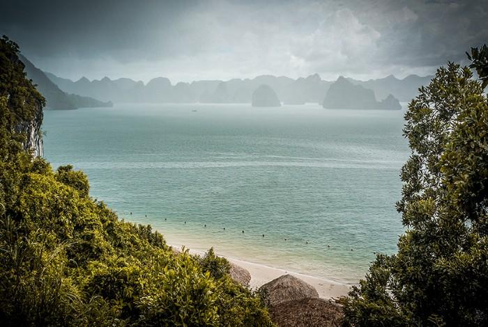 Biển Soi Sim tĩnh mịch, êm đềm