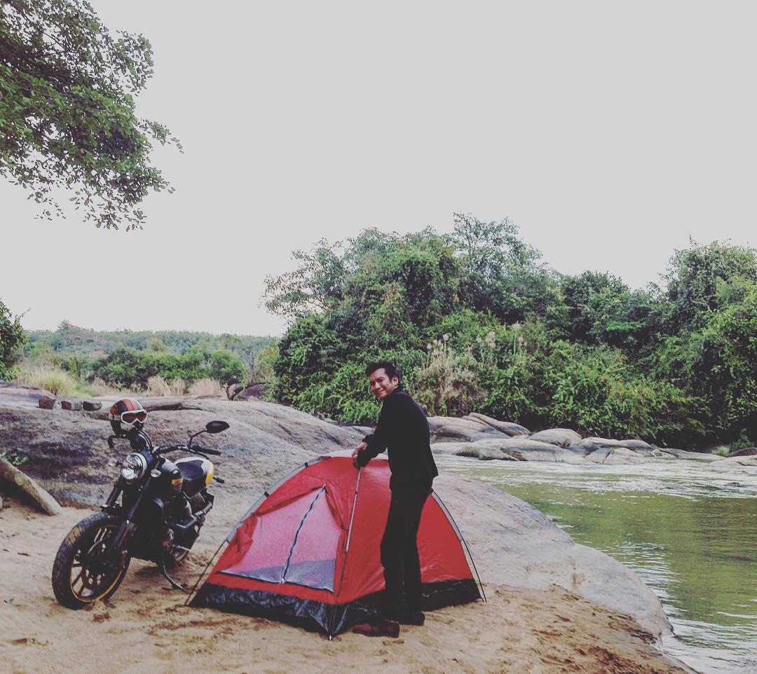 Hay dựng lều cắm trại - Ảnh: @strongtimtoi