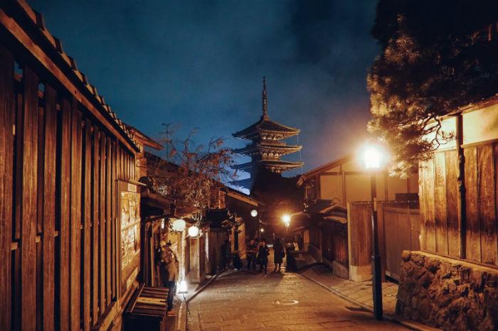 Kyoto làm ta mê đắm trước vẻ đẹp truyền thống của Nhật Bản - Ảnh: Lê Nhâm Quý