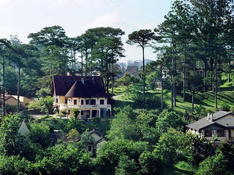 Ngôi nhà cổ tích nằm giữa rừng xanh