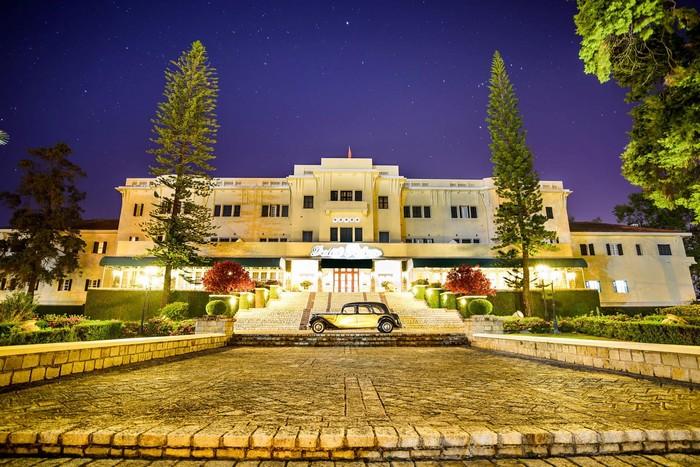 Nét quyến rũ của 'kinh đô' Dalat Palace