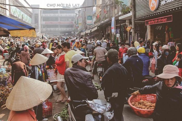 Người Đà Lạt thích đi chợ