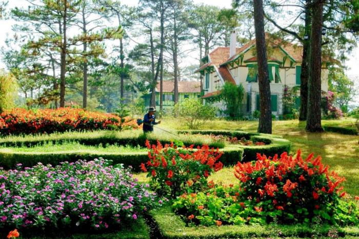 Đà Lạt Cadasa Resort mang đậm phong cách Bắc Âu