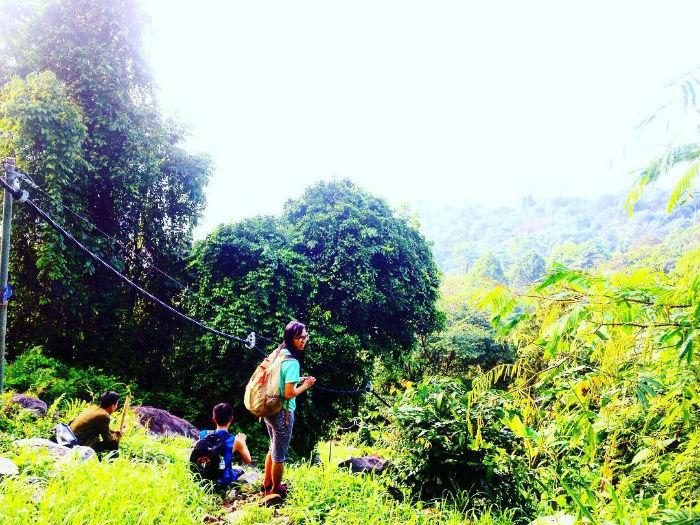 Thử thách chinh phục núi Chứa Chan