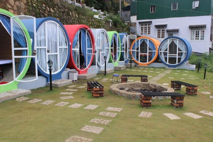 Nhà nghỉ dạng ống 'hot rần rần' ở Đà Lạt