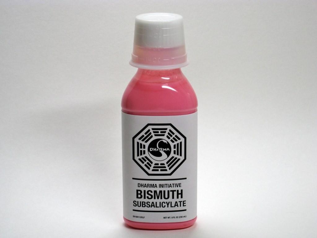 Sử dụng thuốc tiêu hóa có chứa bismuth subsalicylate