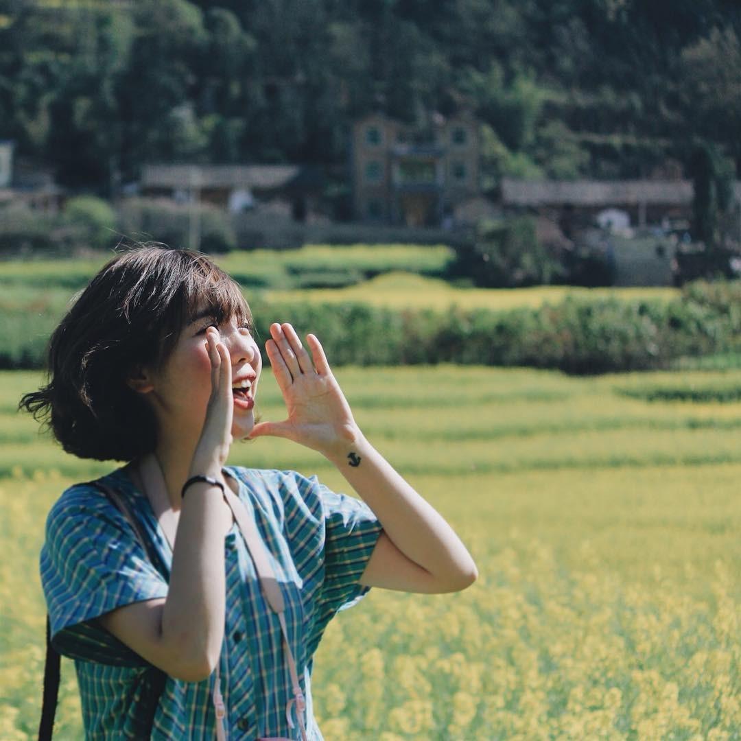 Cô gái Việt gọi hè ở La Bình