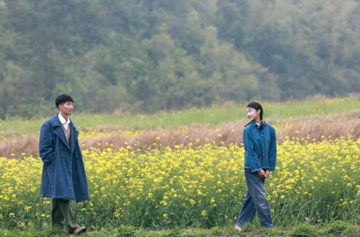 Một cảnh trong phim Chuyện Tình Dưới Cây Táo Gai được quay ở La Bình
