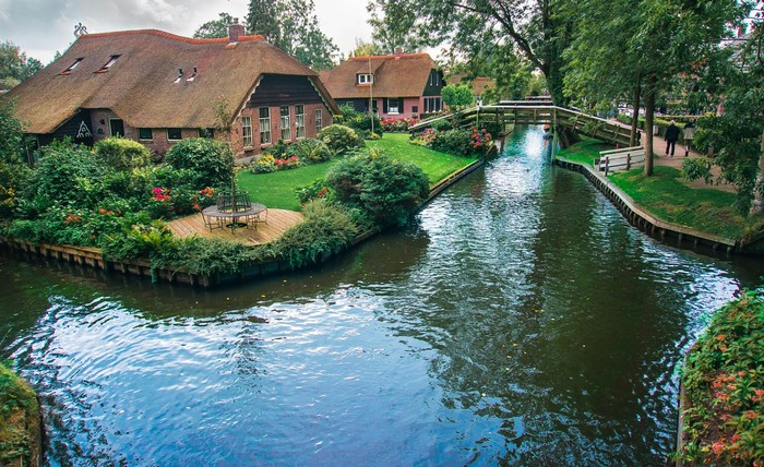 Ngôi làng xinh đẹp được xây dựng từ năm 1230