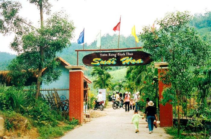 Khu du lịch Suối Hoa ở Đà Nẵng