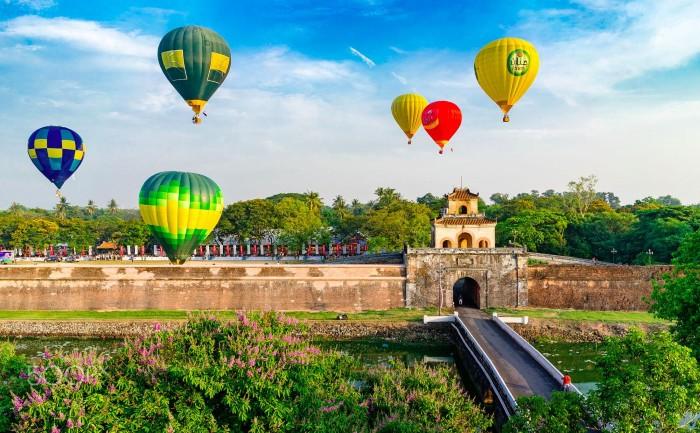 Lễ hội khinh khí cầu Balloon festival tại Huế