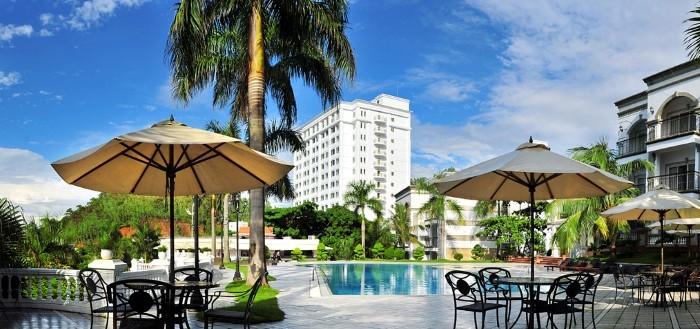 Khách sạn Novotel Hạ Long có không gian thoáng đãng, tươi mát