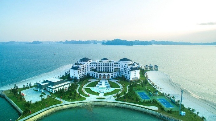 Vinpearl Ha Long Bay Resort - dinh thự sang trọng nằm chơi vơi giữa vùng vịnh
