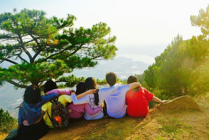Đến đỉnh Langbiang
