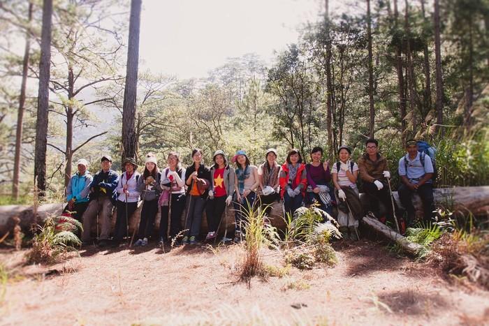 Trekking ở vườn quốc gia Bidoup