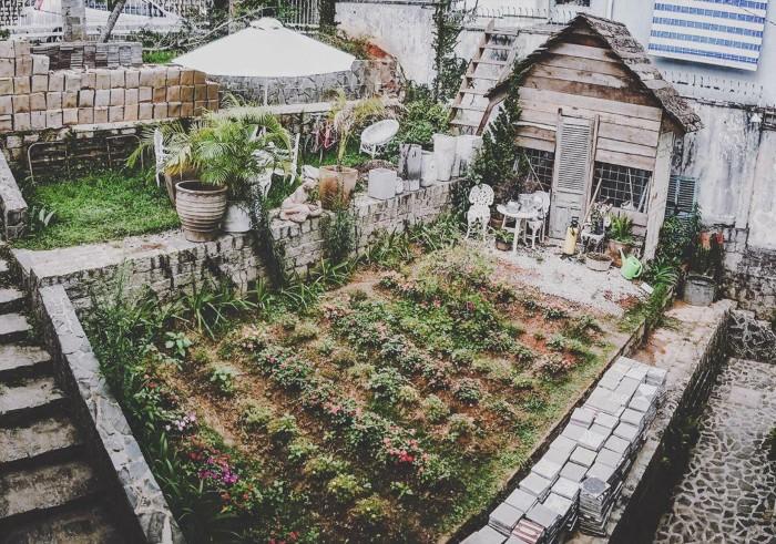 Chỉ mong có được khu vườn thế này - Ảnh: tuanvg