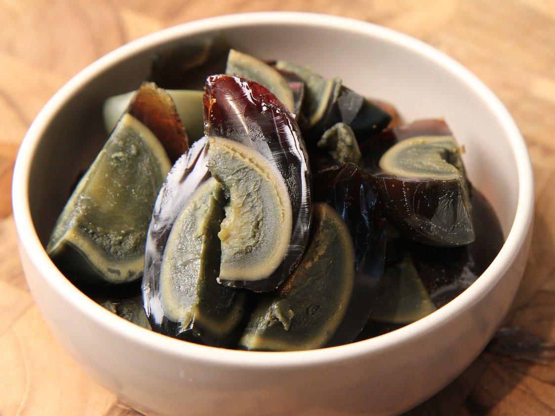 Trứng bắc thảo là một đặc sản nổi tiếng của Trung Quốc, có nguồn gốc từ tỉnh Hồ Nam.