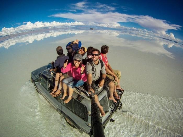 Trọn cả đất trời chỉ trong một tấm selfie