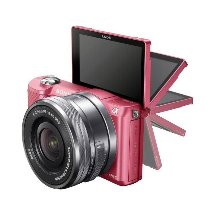 Khả năng tự lật màn hình của máy ảnh…