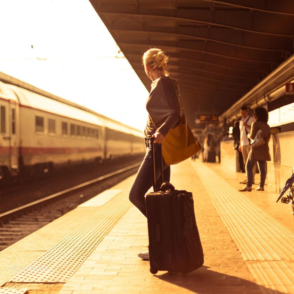 Hành lý của nàng đầy hơn một tẹo