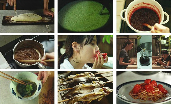 Món ăn giản dị được chế biến và trình bày bắt mắt