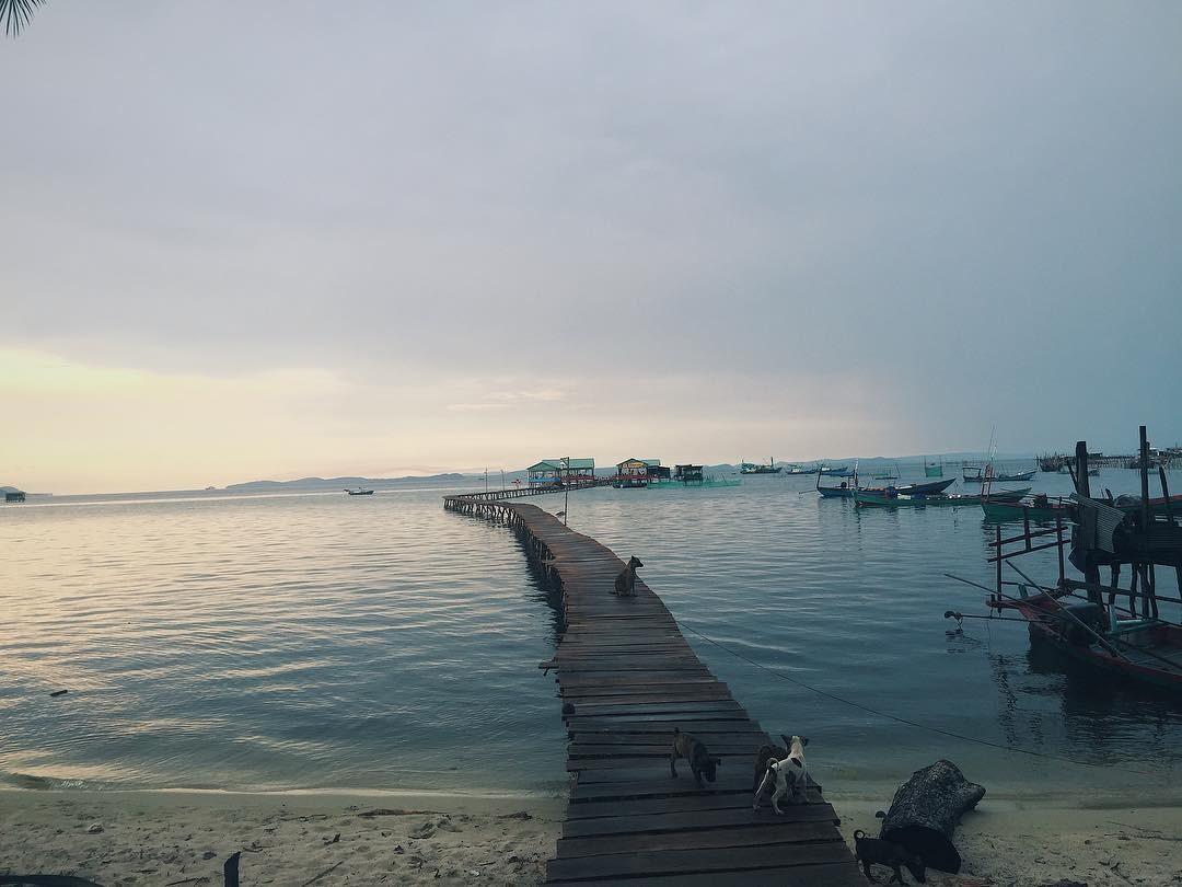 Một mình nơi đảo xa