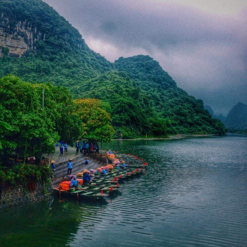 Ninh Bình của ngày mưa quay phim Tấm Cám.