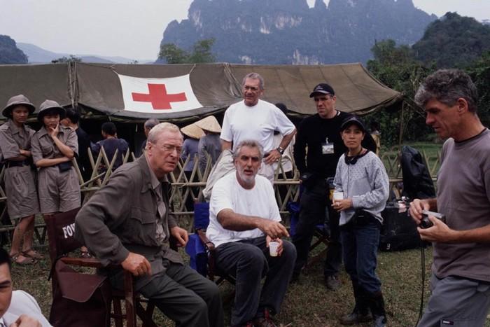 Những giờ lăn lộn trên phim trường Ninh Bình của đạo diễn Phillip Noyce.
