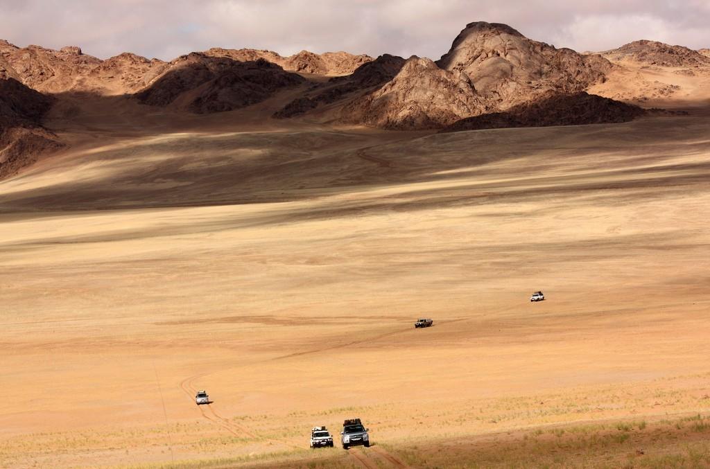 Sa mạc rộng lớn với những thước phim hoành tráng