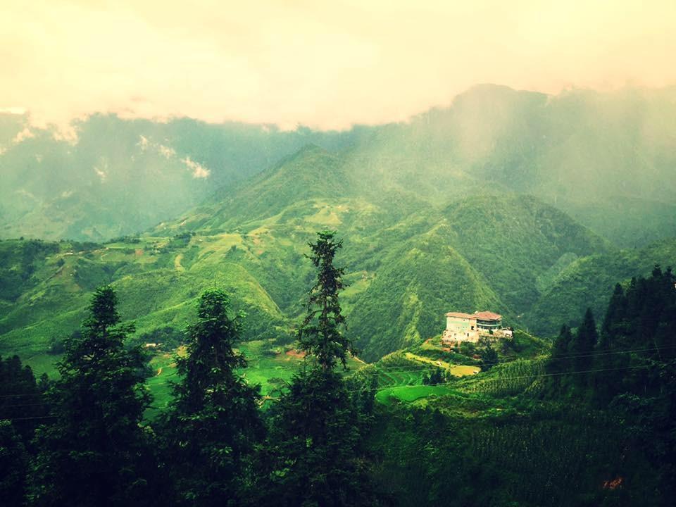 Haven Sapa Camp Site tọa lạc trên đồi Vọng Cảnh
