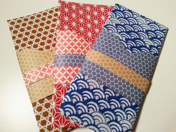 Những chiếc khăn Tenugui sắc màu
