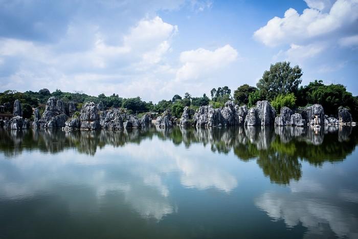 Vẻ đẹp tựa chốn tiên cảnh ở Thạch Lâm