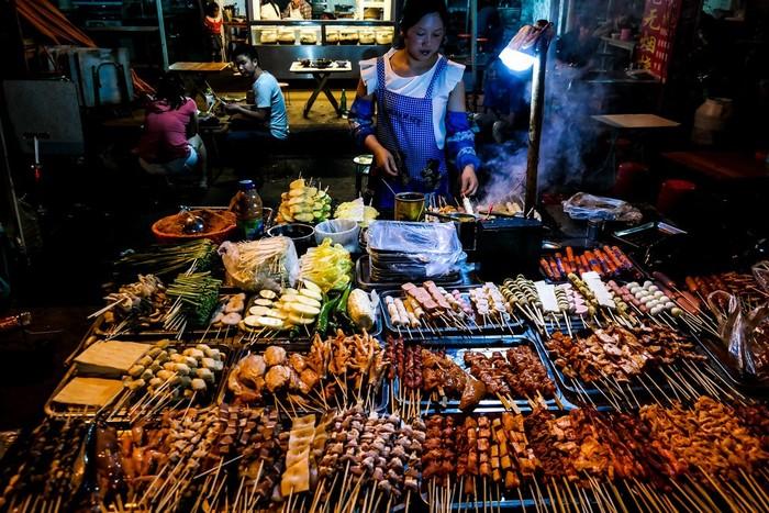 Ẩm thực đường phố đa dạng ở Côn Minh