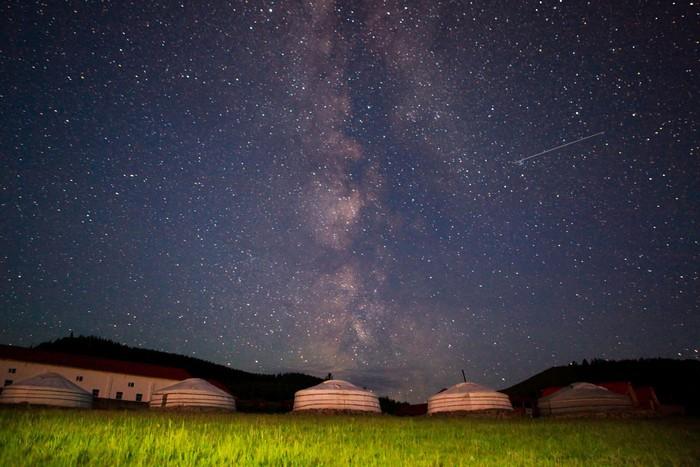 Cảnh đẹp như mơ ở Mông Cổ