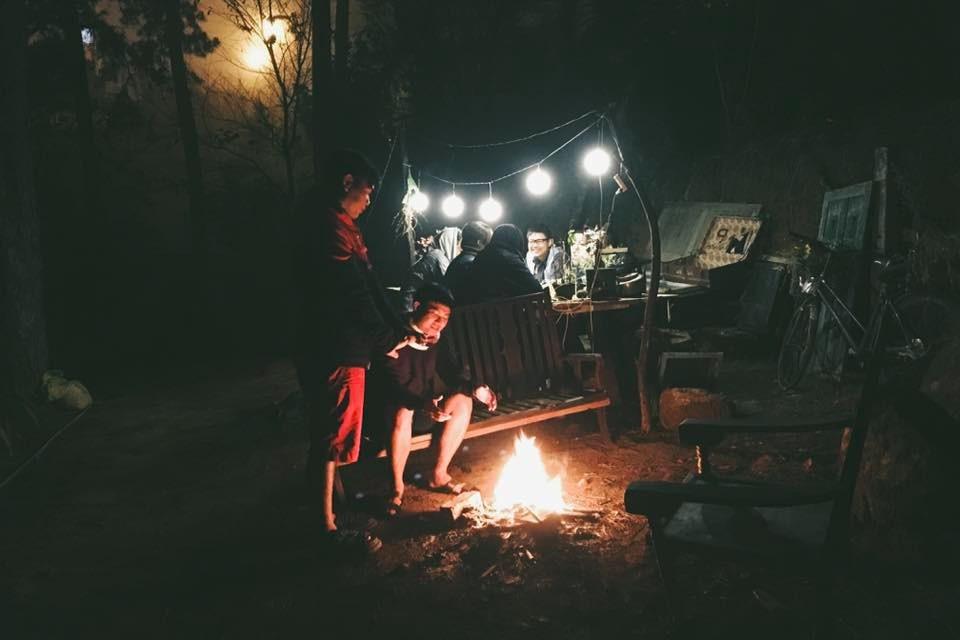 Tiệc nướng hoặc lửa trại ở INDIgo home