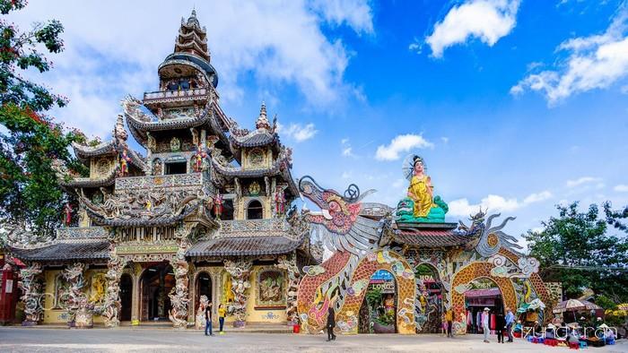 Ấn tượng cùng chùa Linh Phước