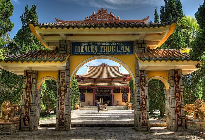 Thiền viện Trúc Lâm tĩnh mịch