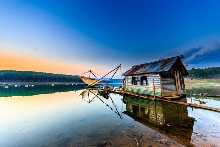 Góc nhỏ trên hồ Tuyền Lâm