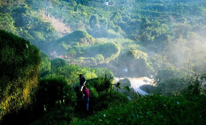 Vượt qua rừng xanh ngút ngàn