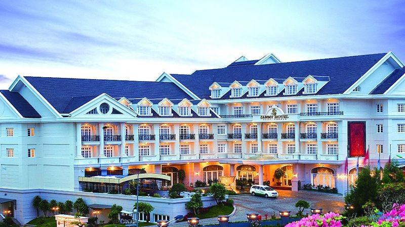 Khách sạn Sammy Đà Lạt với vị trí đẹp giữa trung tâm thành phố