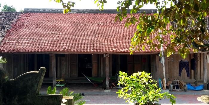 Ngôi nhà cổ được công nhận là Di sản cần được bảo tồn - Ảnh: Nguyễn Dương