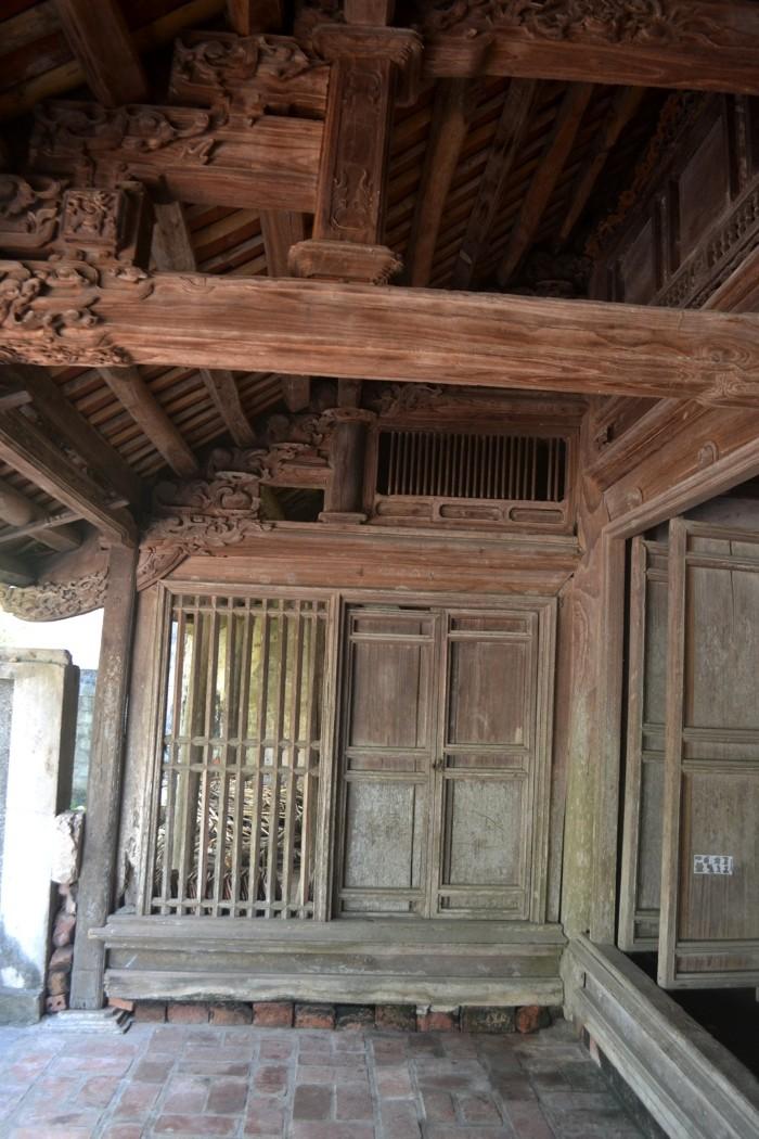 Nhà có 3 gian chính và 4 gian phụ - Ảnh: Nguyễn Dương